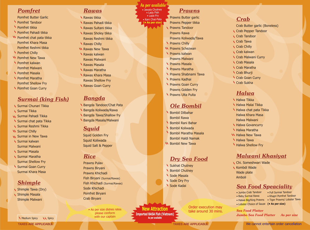 Food Menu Card Www Pixshark Com Images Galleries With